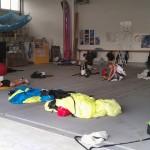 Fallschirm packen in Gera