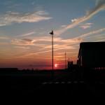 Abendstimmung nach dem Sunset-Sprung in Gera