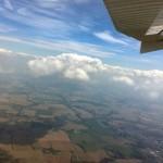 Sprungwetter über Gera