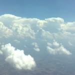 Wolken beim Fallschirmspringen in Gera