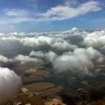 Wolken-Fetzen am Himmel über Gera