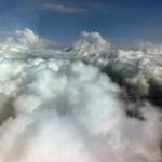 spektakuläre Wolkenkulisse über Gera