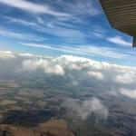 Wolkenbildung über Ostthüringen